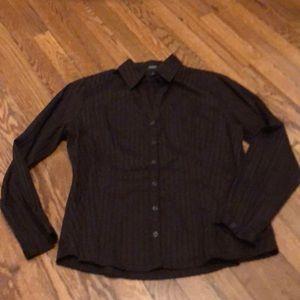 Peck & Peck Chocolate Brown Shirt